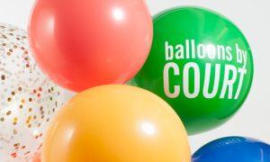 green big balloon