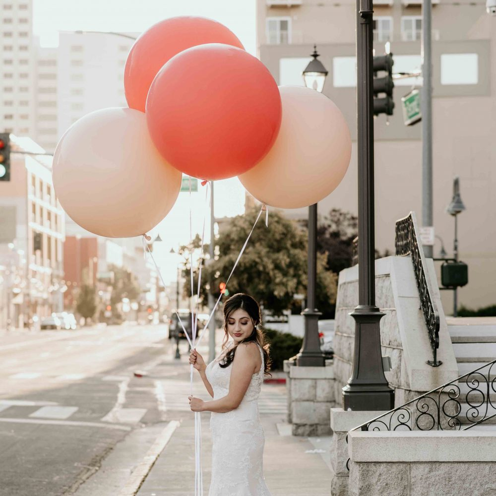 street side jumbo balloons
