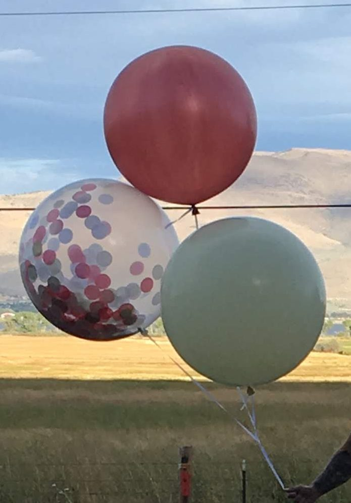 balloon care in sun